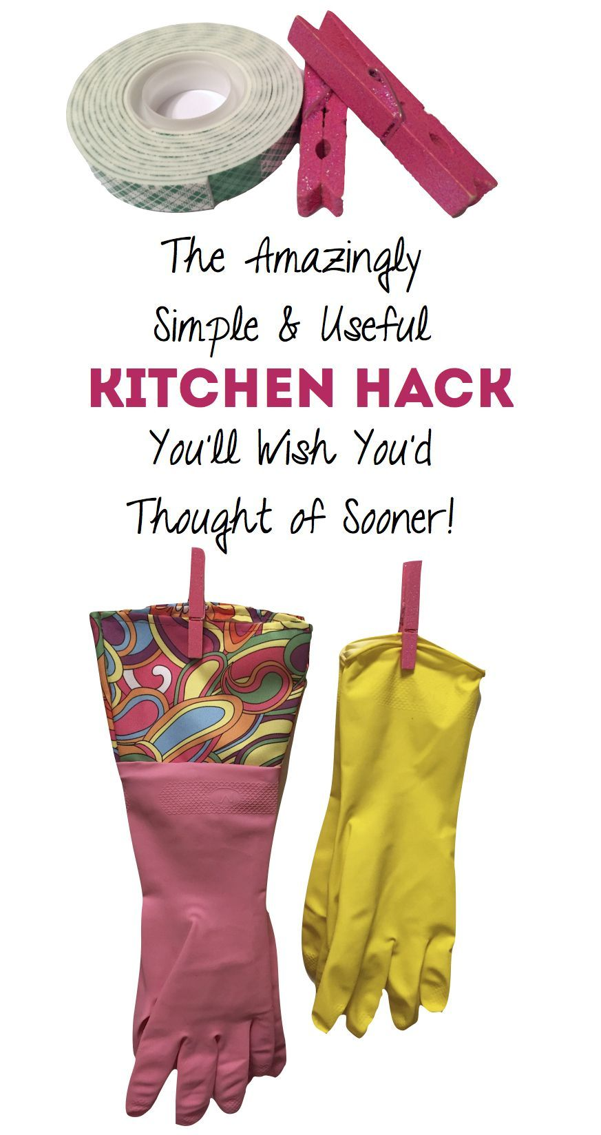 Amazing Clothespin Hack I Wish I'd Found Years Ago This super-simple kitchen hack eliminated one of my biggest pet peeves! Easy DIY photo tutorialThis super-simple kitchen hack eliminated one of my biggest pet peeves! Easy DIY photo tutorial