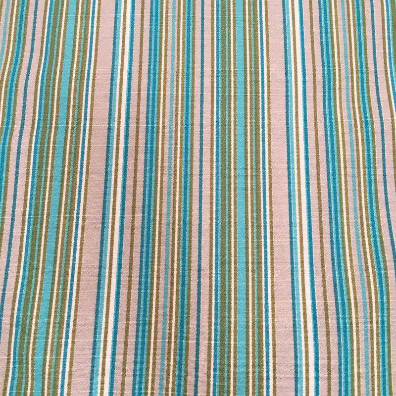 Tecido Linho Impermeabilizado Listrado Cinza Claro, Azul Claro e Verde - Mace 35 - Site de tecidos para sofá, cortinas, papel de parede e móveis