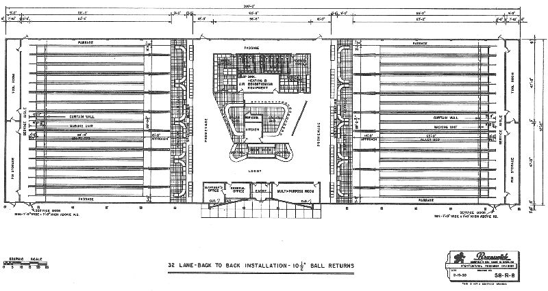 Bowling alley floor plans gurus floor Bowling alley floor plans
