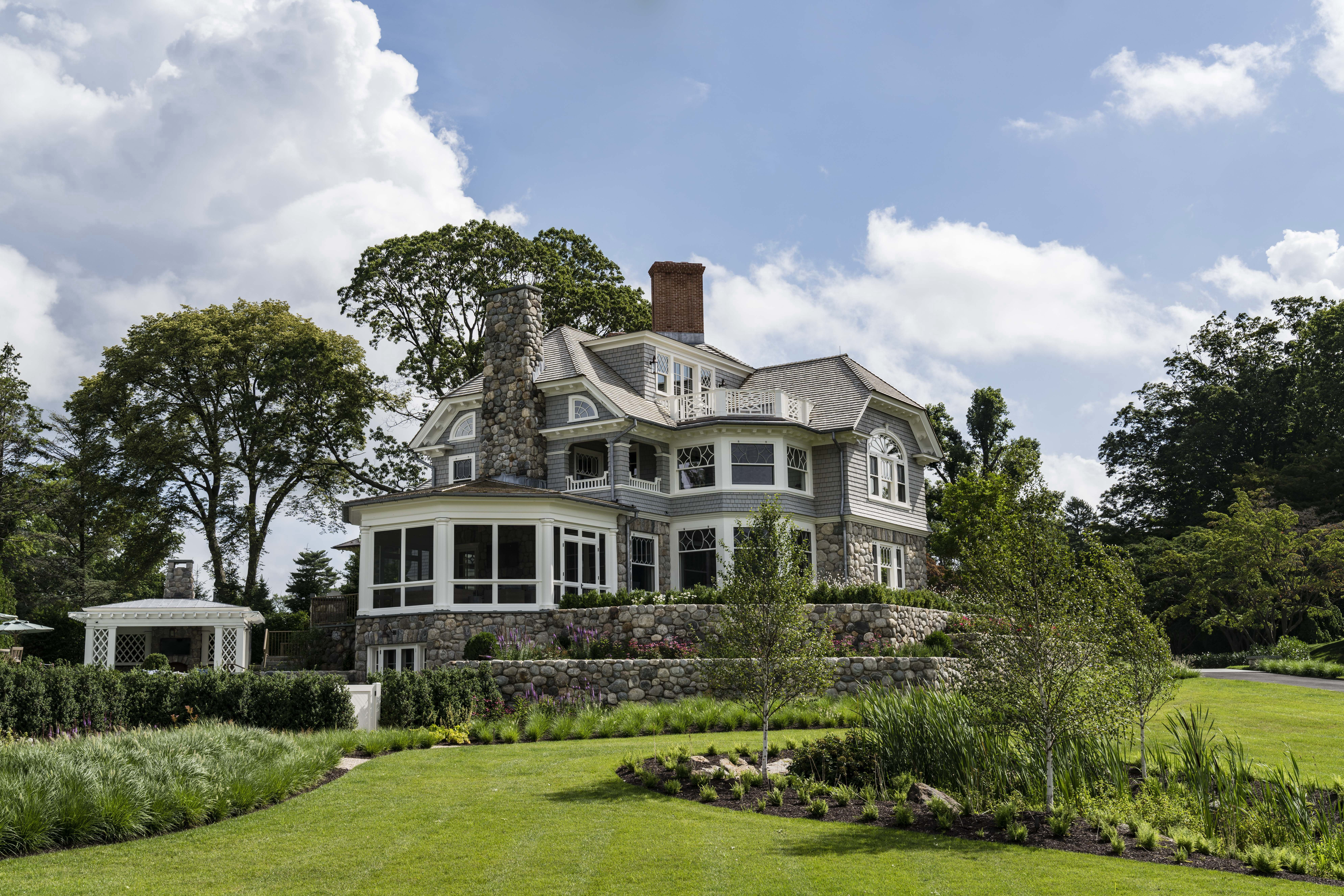 Best Greenwich Waterfront Classical Revival Shingle Style 400 x 300