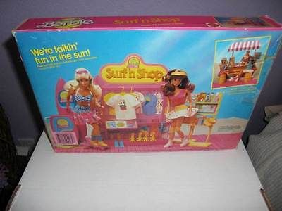Vintage California Dream Barbie Surf 'n Shop Playset 1987