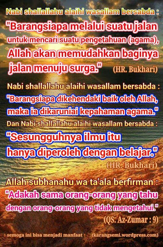 Pin oleh Pengemban Islam di Islam Jalan Menuju Surga