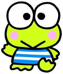 Kawaii keroppi frog sanrio