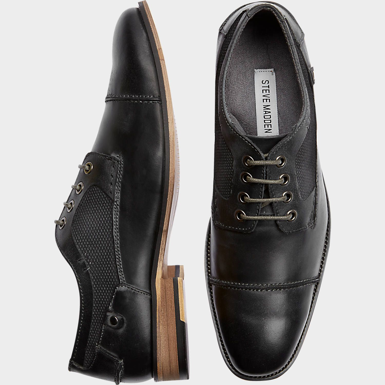 4566d1402d4 Buy a Steve Madden Jaceon Dark Gray Cap Toes online at Men's ...