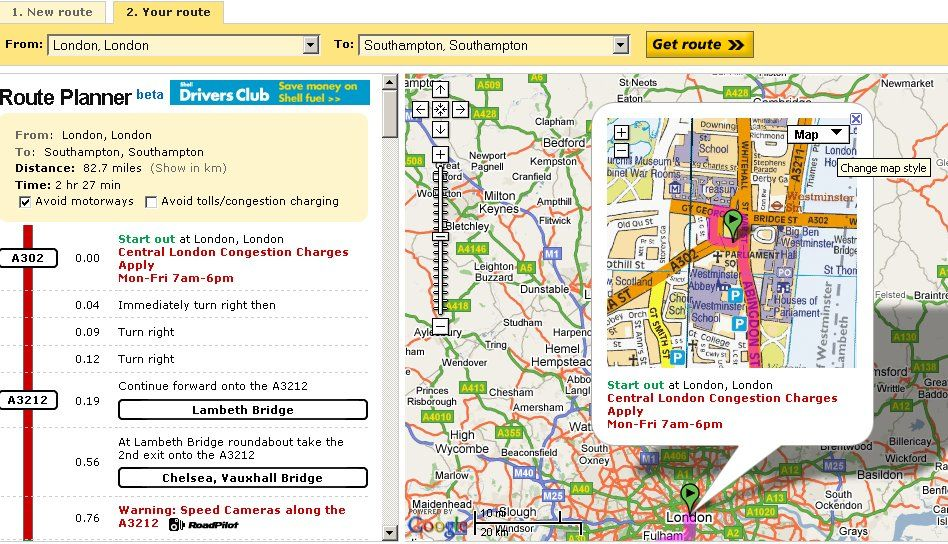 RouteFast Incorporates Intuitive Capabilities With Advanced Mapping - Trip mapping software