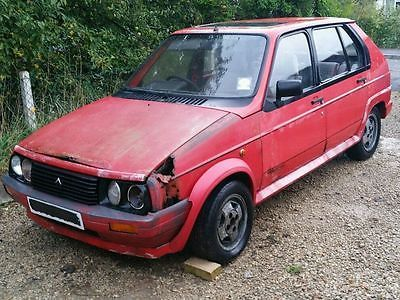 Citroen Visa Gti Barn Find Restoration Project Spares Or Repairs Rare