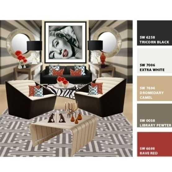 E Design Interior DecoratorPersonalized Mood Board PDF File