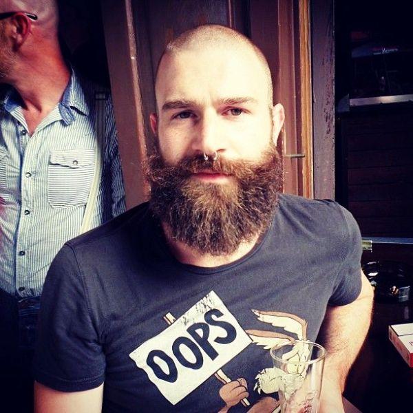 Jamie noble shaved head