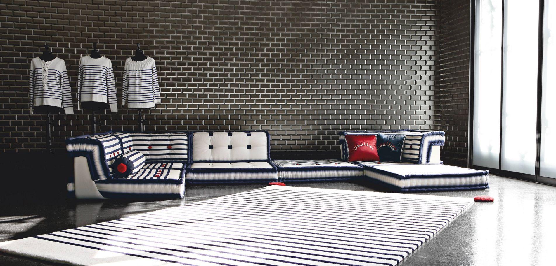Mah Jong Composition Matelot Jean Paul Gaultier Sofa Design