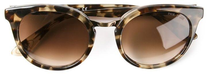 Paul & Joe leopard print sunglasses on   Lunettes