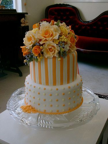 Orange Roses cake | Flickr - Photo Sharing!