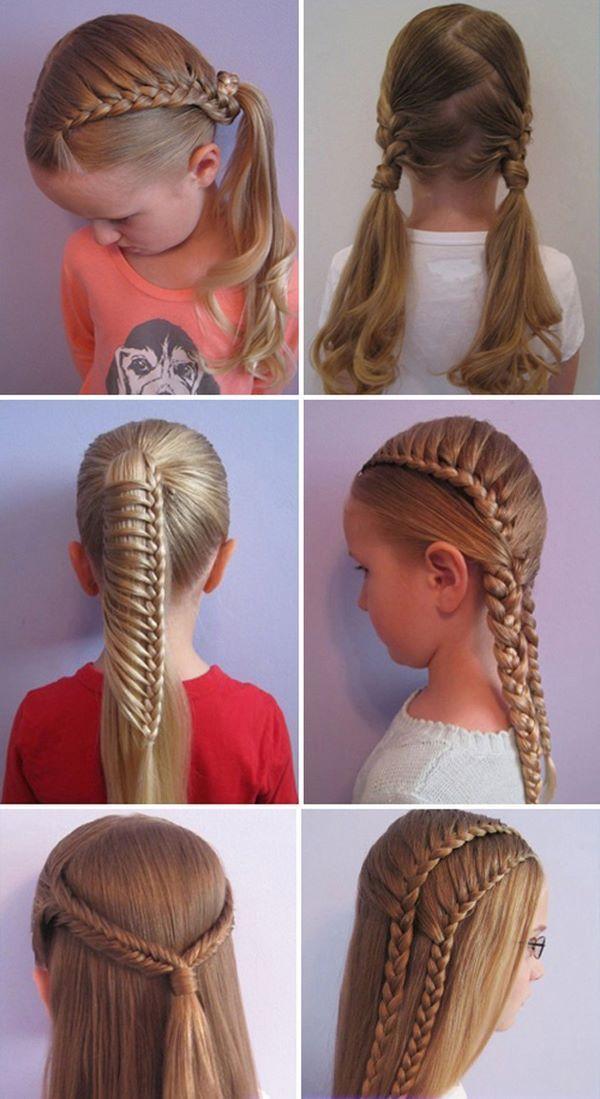 Tendencias Peinados Actuales Colegio Trenzas Tipos Para Para Cada Pelo Para Nias El De Mspeinado Hair Styles Everyday Hairstyles Kids Hairstyles