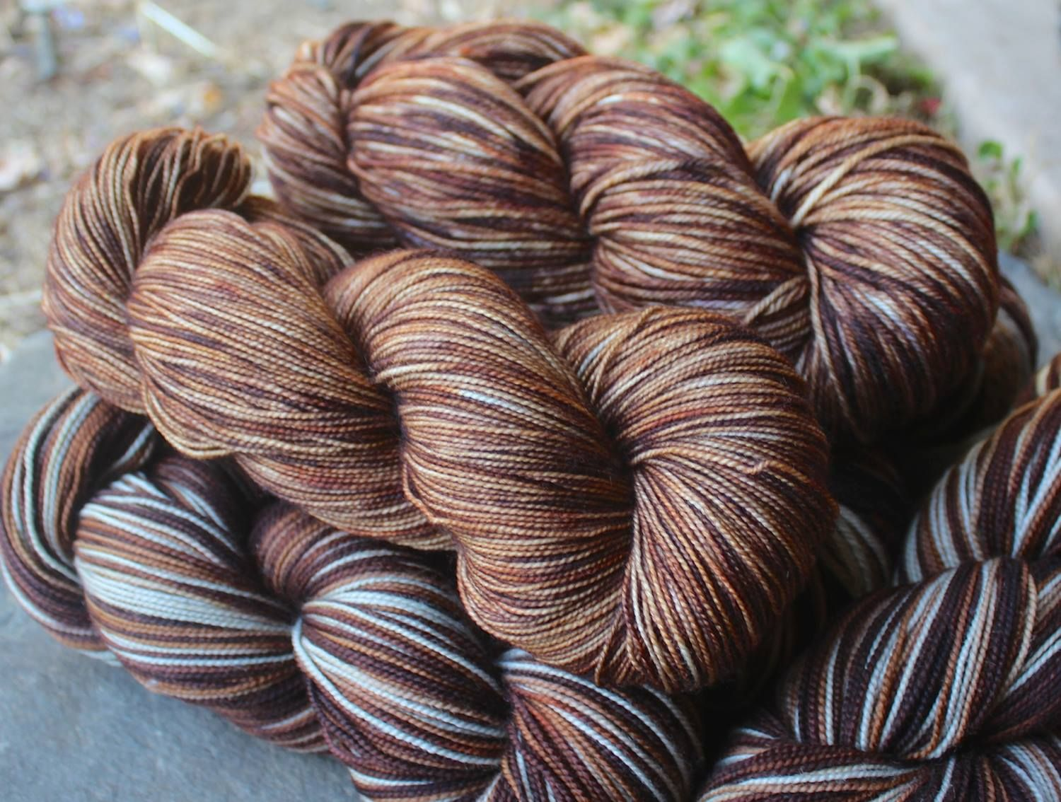 """Blueberry Coffee"" Brown semisolid August 2015"