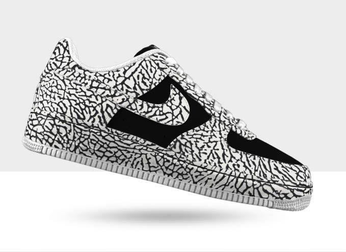 Nike Air Force 1 Premium iD - Elephant Print Options  04eded540