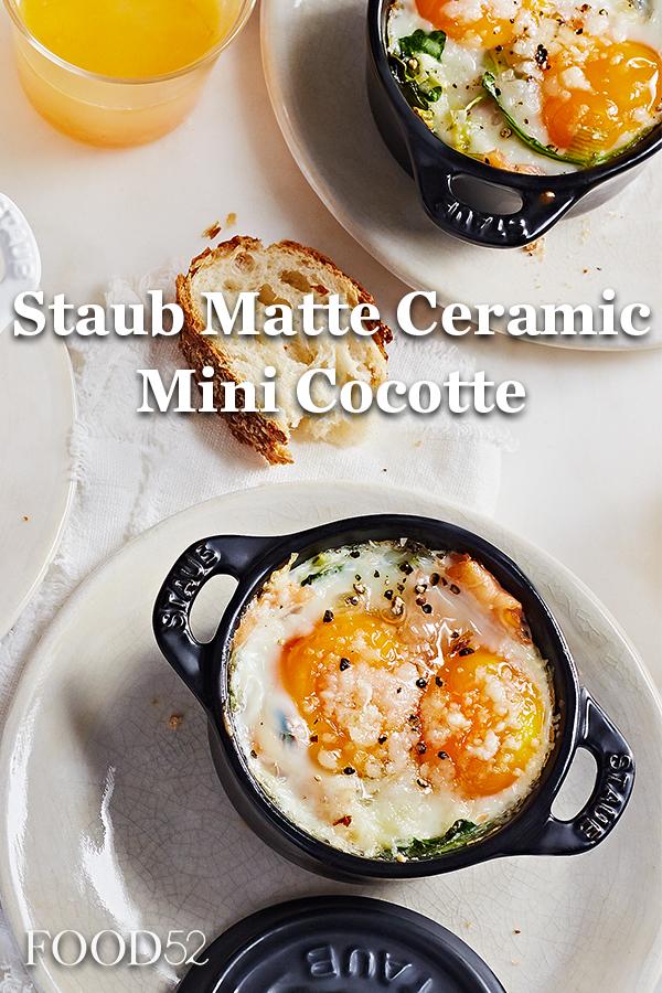 Staub Matte Ceramic Mini Cocotte Set Of 3 Food 52 Food Dishes