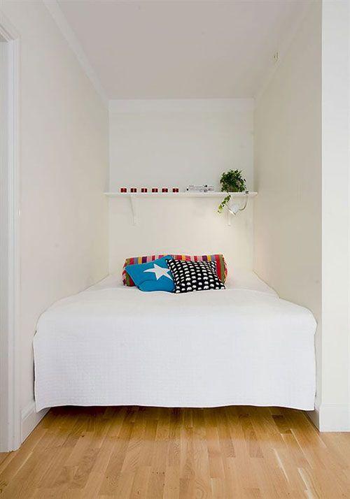 kleine slaapkamer inrichten interieur inrichting slaapkamer