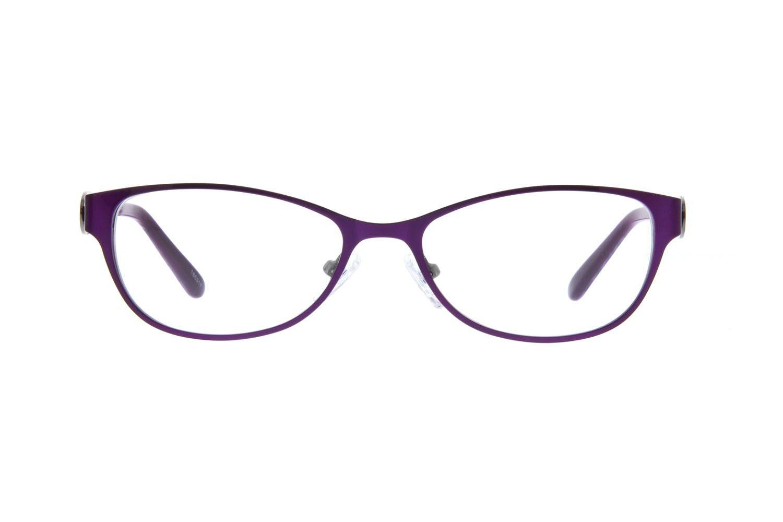 Purple Oval Eyeglasses #165317 | Zenni Optical Eyeglasses