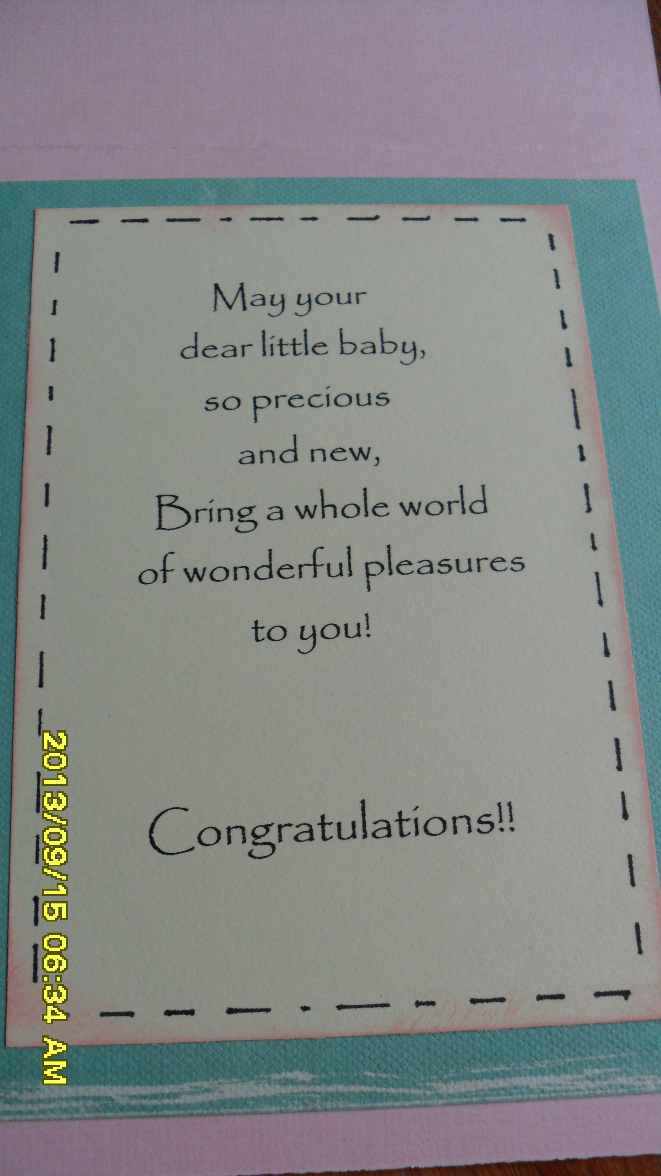 What To Write In A Baby Shower Card From Grandparents : write, shower, grandparents, Rosemary, Vivian, Cards, Shower, Sayings,