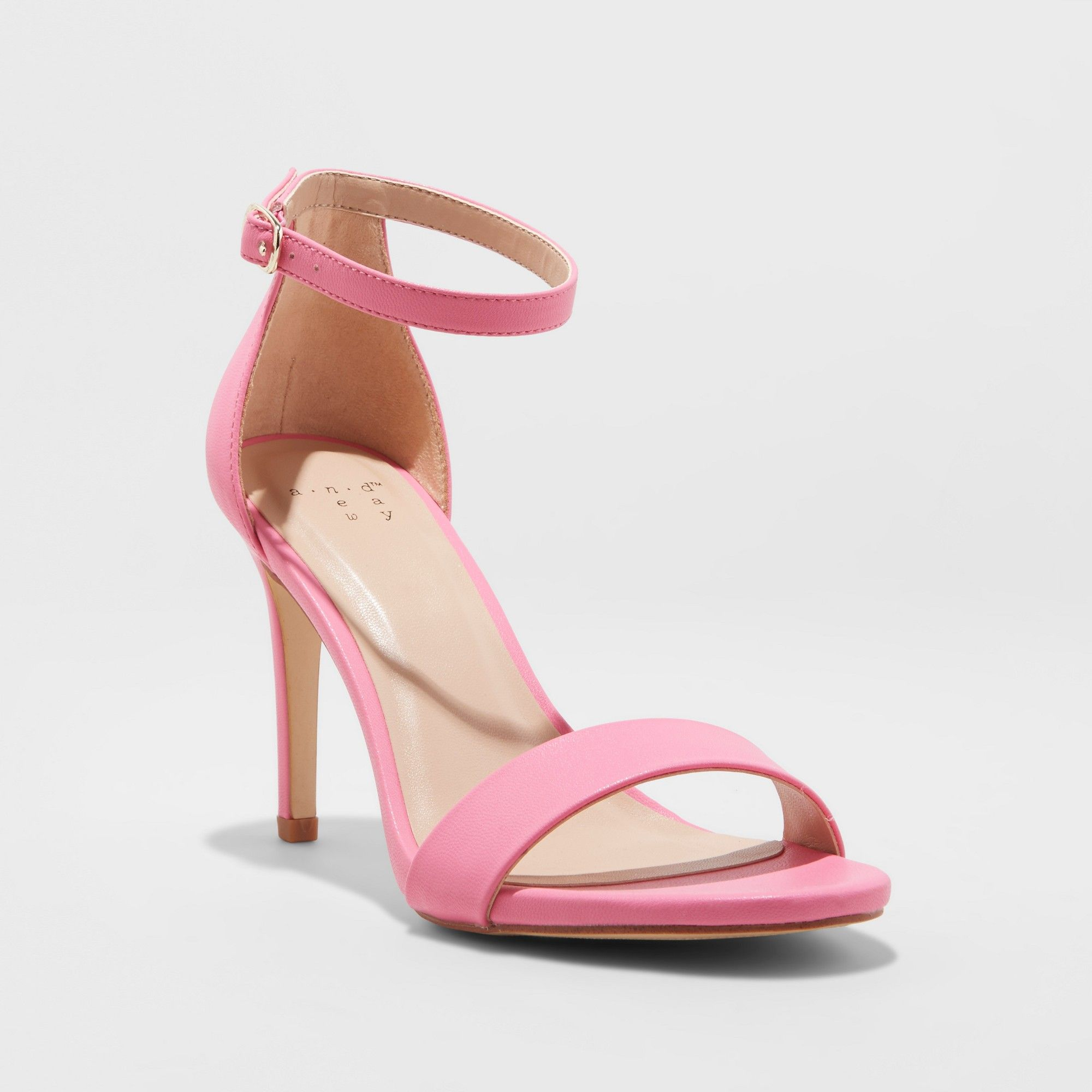 a1783a09180 Women s Myla Wide Width Stiletto Heeled Pump Sandal - A New Day Pink 8.5W