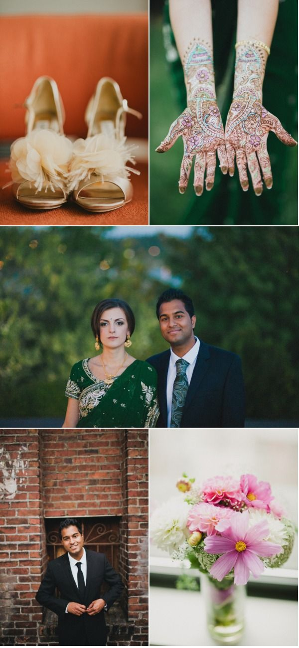 a mixed wedding... this post so full of inspiration!