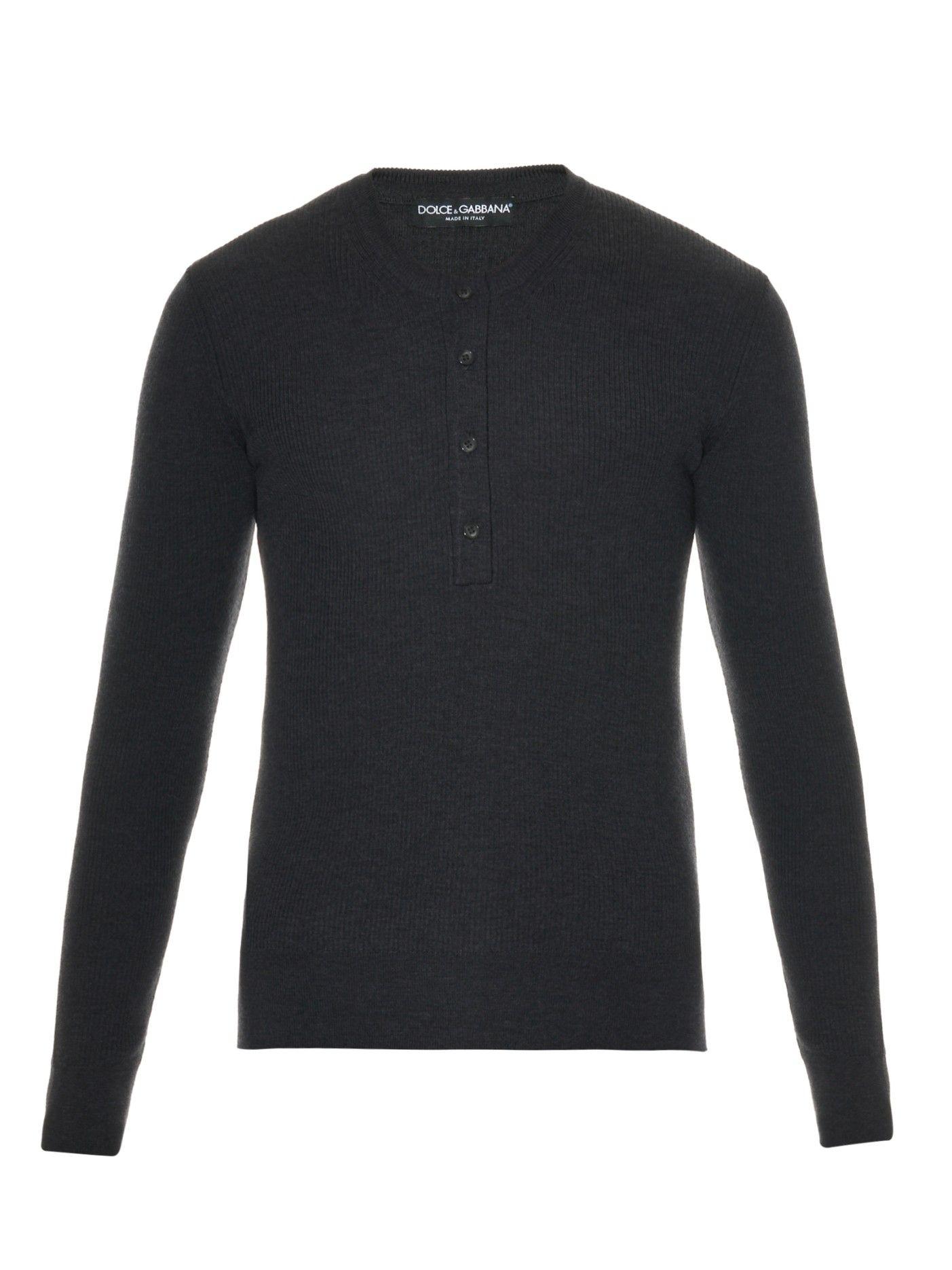 Ribbed-wool sweater | Dolce & Gabbana | MATCHESFASHION.COM US