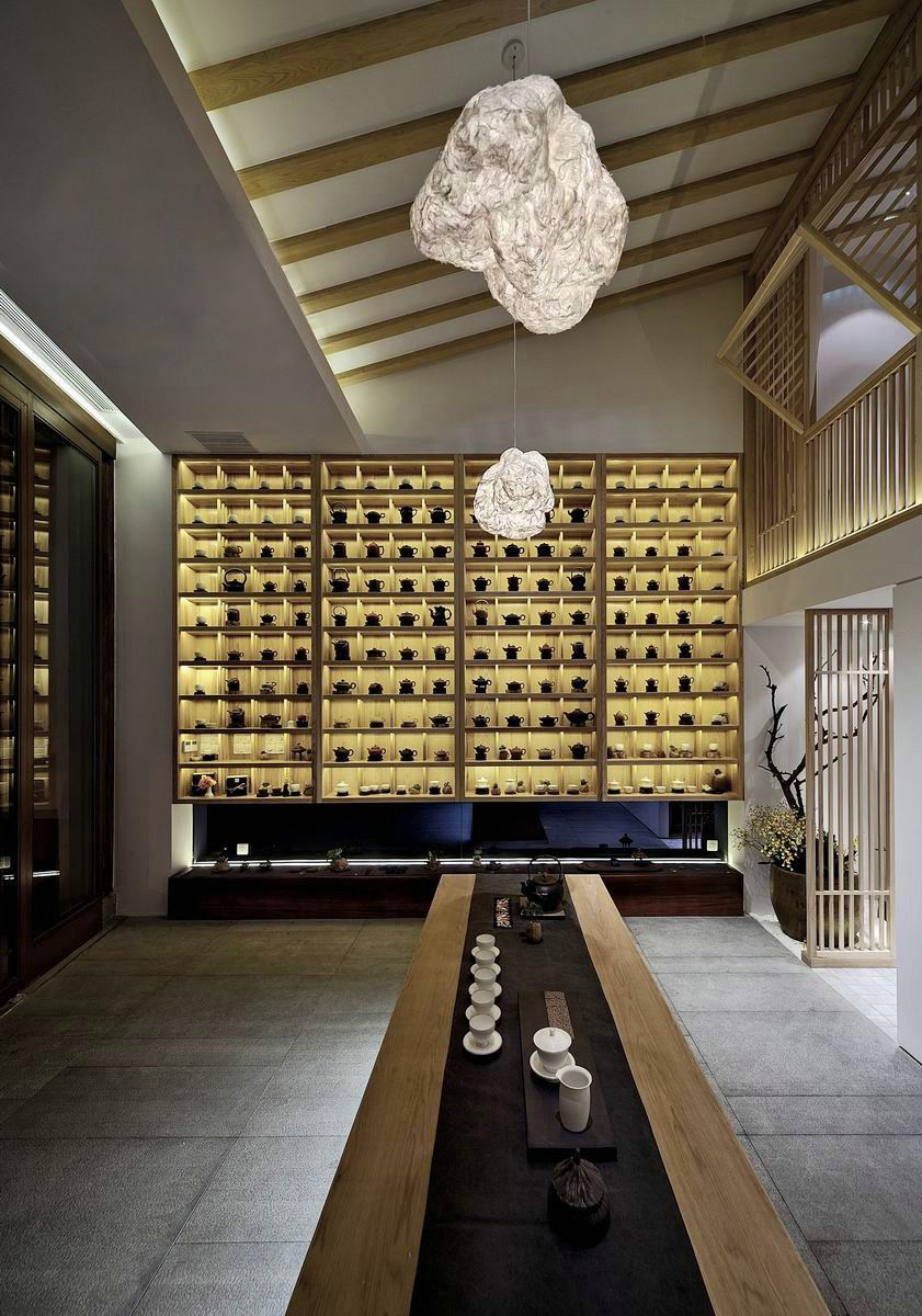 Chinese style in the interior 50 photos