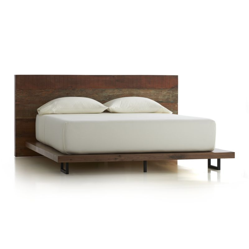I love this bed frame! Atwood Bed without Bookcase Footboard | Crate ...