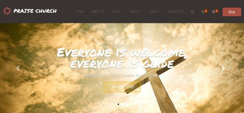 Woo Commerce Ready WordPress Theme | Church WordPress Theme for ...