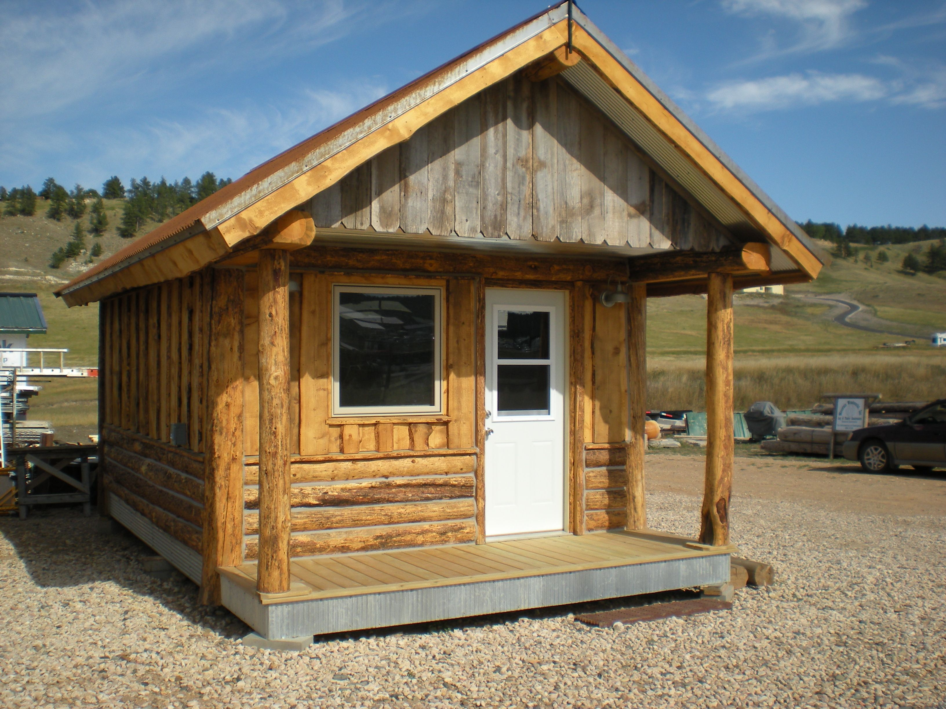 Mountain Wood Works Inc Home Black Hills Log Home Builders Log Home Builders Tiny House Cabin Mini Cabins
