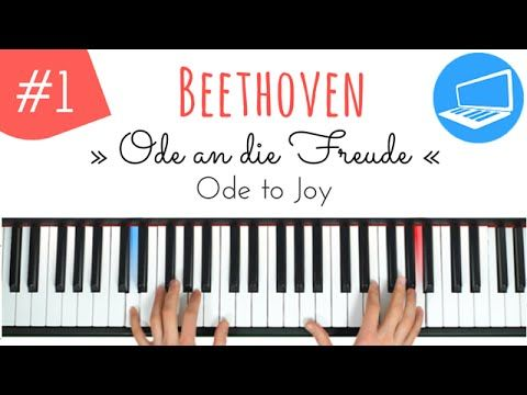 Ode an die Freude - Piano TUTORIAL Teil 1 - Klavier lernen | PianoTube