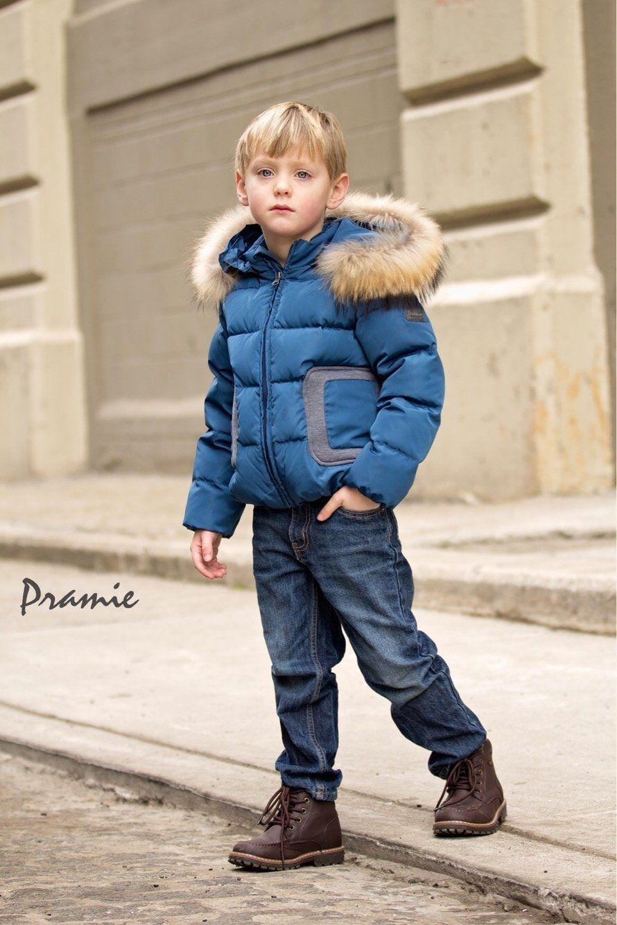 fdf5d2f67 Pramie Boys  Blue Down Filled Coat