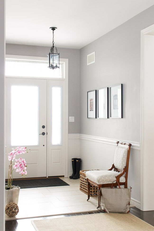 Chair rail and Winchester paint from PARA Paints # ...
