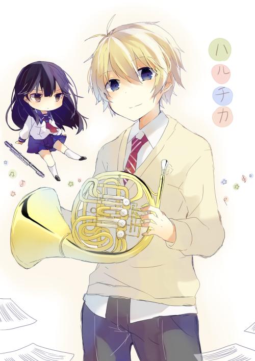 Kamijou Haruta y Homura Chika HaruChika Haruta to Chika