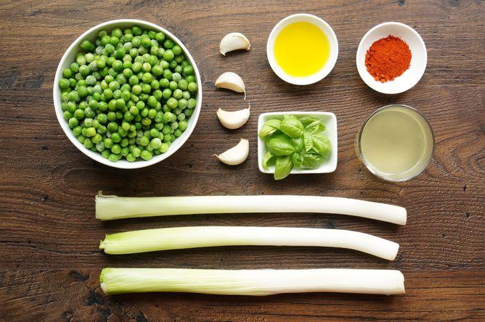 гороховый пюре рецепт с фото с пошаговый