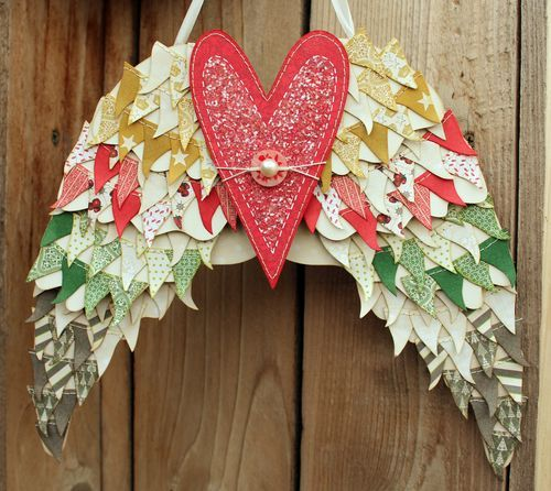 Angel Wings Home Decor: Angel Wings Home Décor Piece By Becky Fleck!