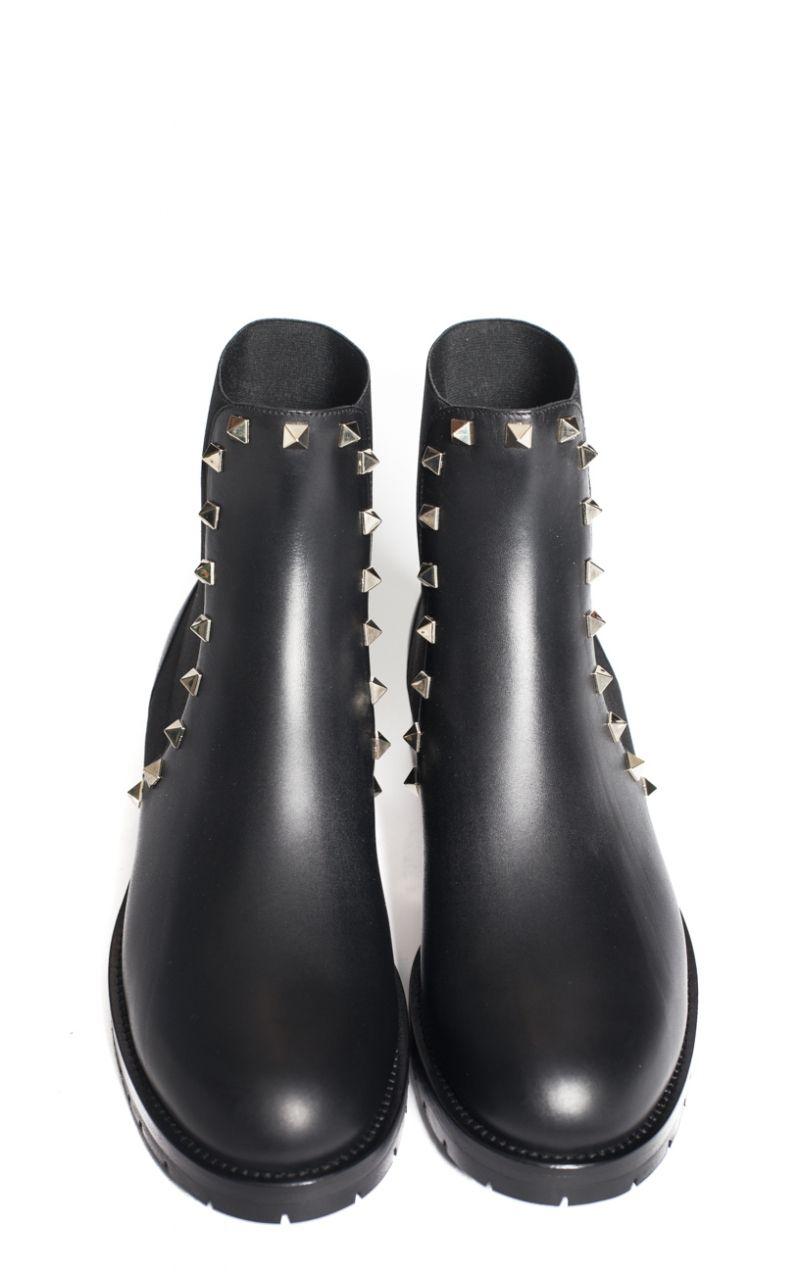 Boots à lacets RockstudsValentino EG1f8Dc