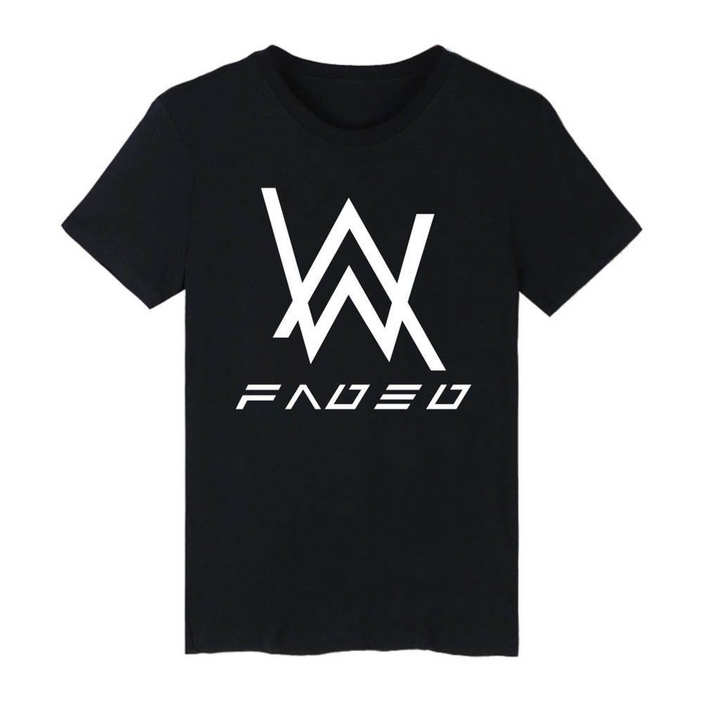 3b85c6cd5 Alan Walker Faded Music Dj Summer T-Shirt Men Women Short Sleeve Tee Tops