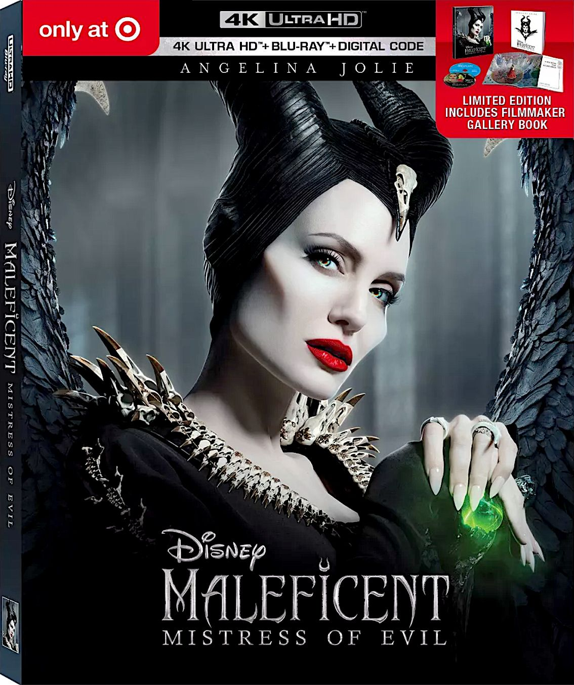 MALEFICENT MISTRESS OF EVIL TARGET EXCLUSIVE 4K BLURAY