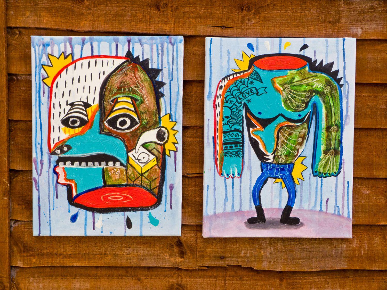 Miguel Palomar - Illustration & Design: Head & Body Painting
