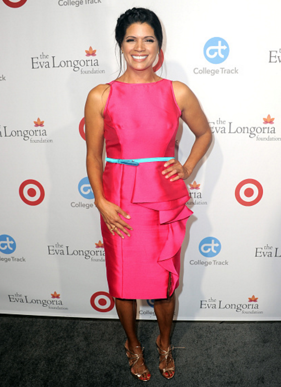 Jane The Virgin actress, Andrea Navedo was pretty in pink in one of ...