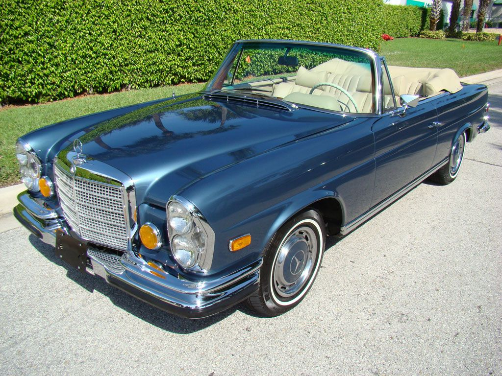 1971 mercedes benz 280se 3 5 cabriolet for sale julian. Black Bedroom Furniture Sets. Home Design Ideas