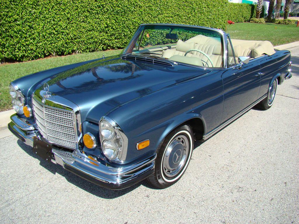 1971 mercedes benz 280se 3 5 cabriolet for sale