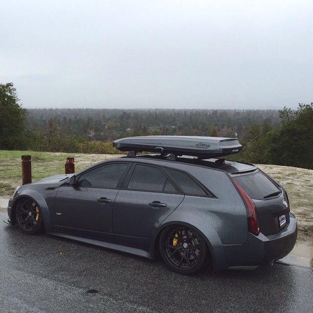 Cadillac Cts-V Wagon For Sale >> A very sinister looking Cadillac CTS-V wagon. | Auto ...