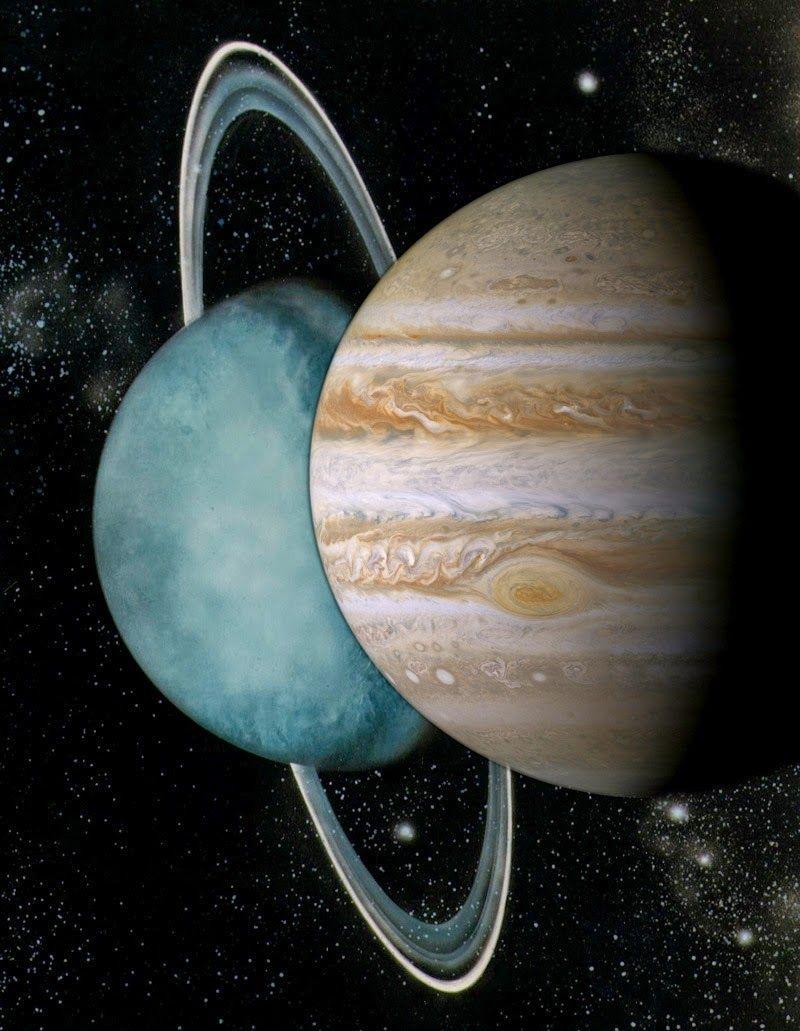Astrología y tarot: TRIGONO URANO Y JUPITER