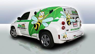 Pest Control Car Wrap Design Vehicle Signage Car Wrap