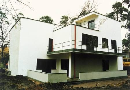 Hm, that one looks a lot like a Gropius Meisterhaus. 50 Incredible Homes  Made Of Repurposed Shipping Containers