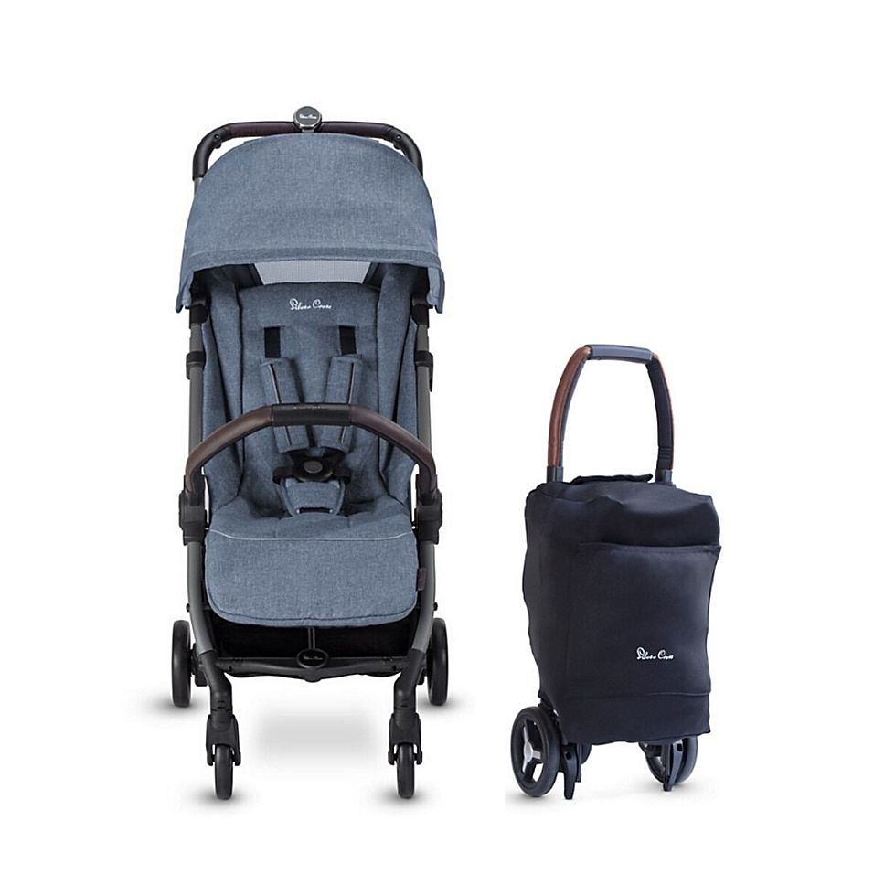 Silver Cross Jet 2020 Ultra Compact Special Edition Single Stroller In Ocean - Lightweight, compact, and suitable from birth, the Silver Cross Jet 2020 Special Edition Single Stroller is perfect for a busy family on the go. The new design has an increased weight capacity to 55 pounds, a larger seat capacity and higher handlebar.