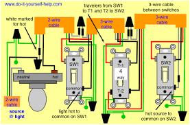 Image Result For Schematic Of 4 Way Switch