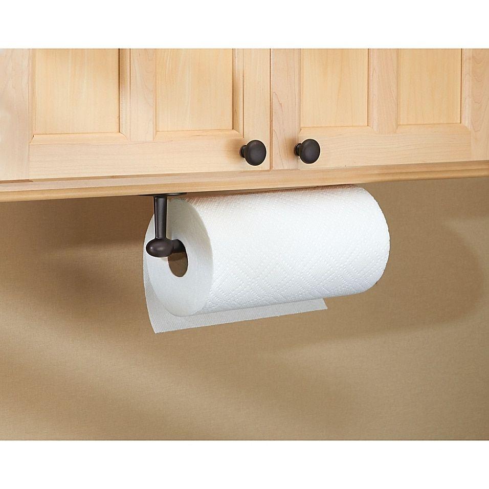 Idesign Orbinni Paper Towel Holder Bed Bath Beyond In 2020 Paper Towel Holder Diy Paper Towel Holder Towel Holder