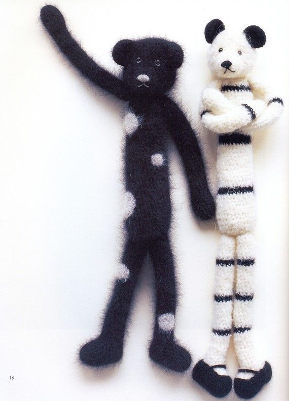 Amigurumi of Black and White